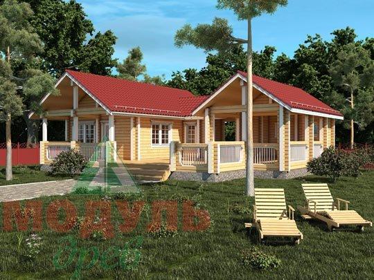Строительство русской деревянной бани