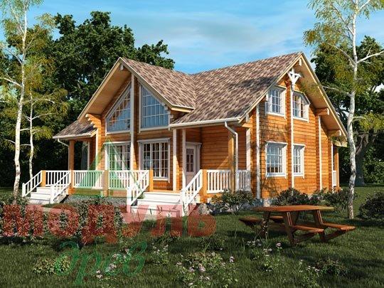 Дом из бруса «Чернигов»