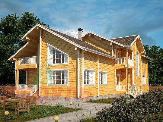 Дом из бруса «Кулой».