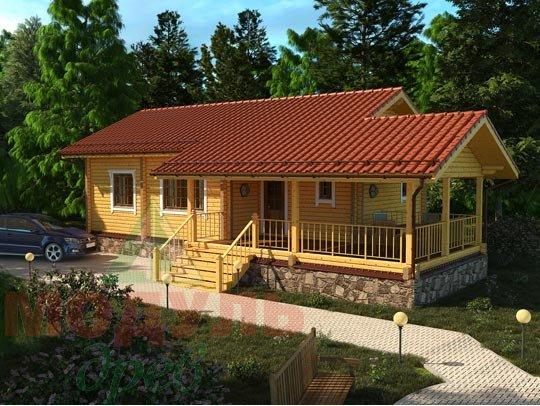 Дом из бруса «Сия».